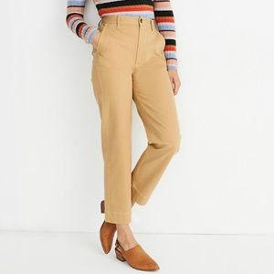 NWOT Madewell Tapered High Waisted Pants Women 26